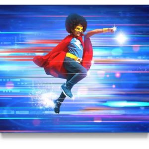 Superhero Digital Background for Photographers