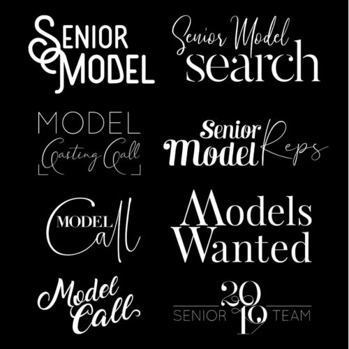 Model Call Word Art