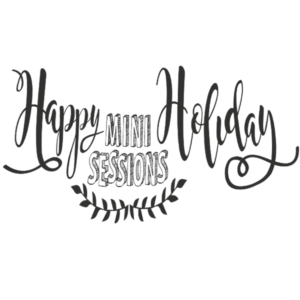 Happy Holidays Minis Word Art