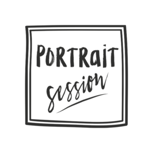 Portrait sessions word art