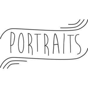 Portraits Word Art