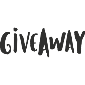 giveaway word art