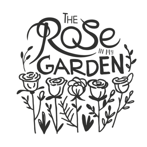 rose in my garden word art