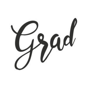 grad word art for high school graduates
