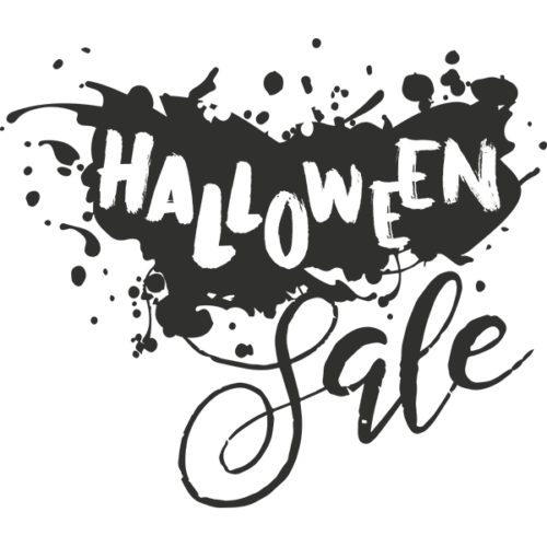Halloween Sale Word Art