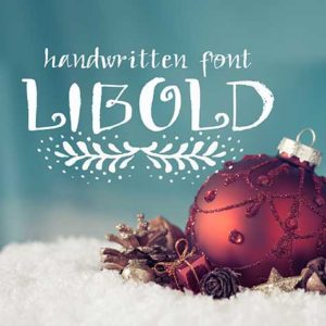 Handwritten Holiday Font