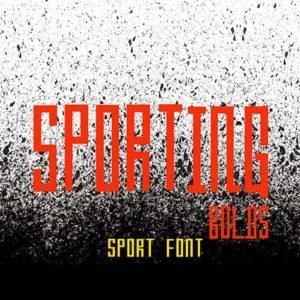 sporting bolds sport font