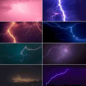 lightning sky backgrounds for Photographers