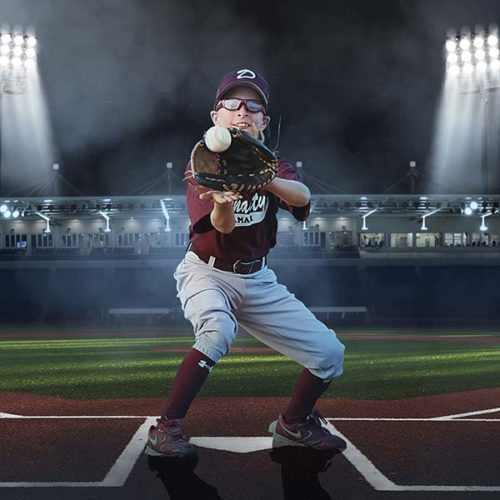 Baseball Digital Background for Photographers