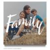 Family Summer Portraits Marketing board