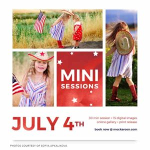 Summer Mini Sessions Marketing Template for Photographers