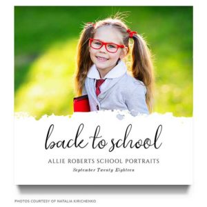 Back to School Marketing Template for Photographers