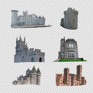 Castle PNG for Overlays and Design Commercial Use